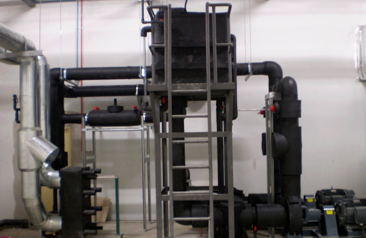 Process Cooling Water System Installation